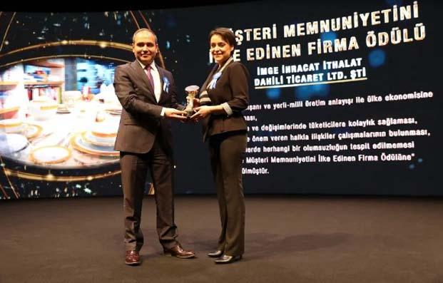 Müşteri Memnuniyetini İlke Edinen Firma Ödülü Porland'ın oldu