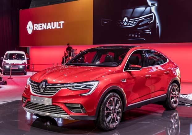 Renault ARKANA: Dünya Prömiyeri 2018 Moskova Uluslararası Otomobil Fuarı'nda gerçekleşti