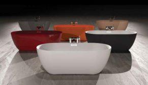 Yaşam alanına dönüşen renkli banyolar ezberleri bozuyor