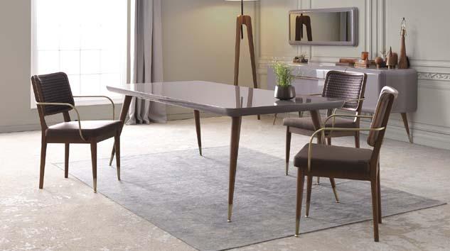 Soho Yemek Odası ile sofralara modern bir dokunuş