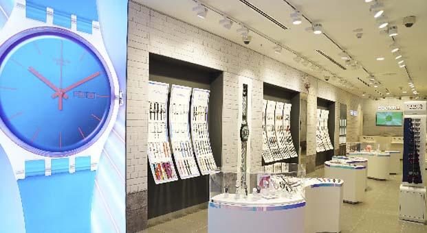 Swatch Türkiye'deki en çok çeşit sunan mağazasını İstinyePark AVM'de açtı