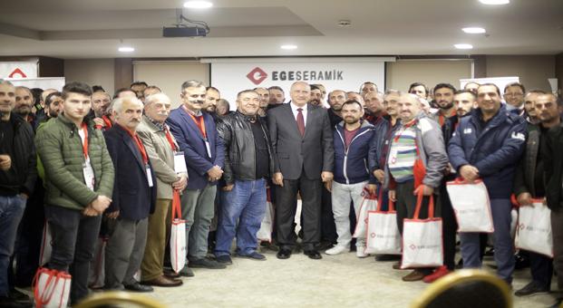 Ege Seramik Usta Eğitim Seminerlerine Samsun'dan başladı