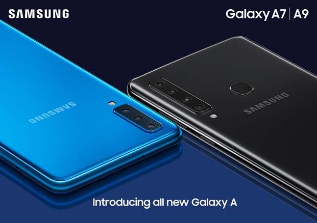 Samsung Galaxy A9 dört dörtlük eğlence vadediyor
