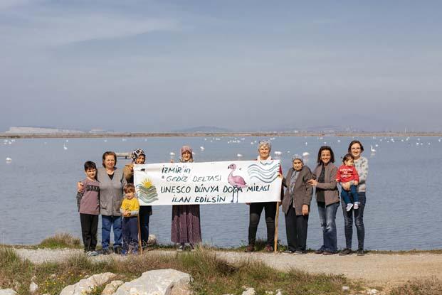 Dünya Kadınlar Günü'nde İzmirli kadınlardan UNESCO'ya mektup