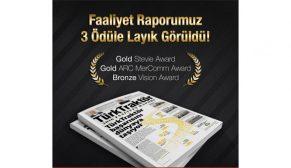 TürkTraktör yıllık faaliyet raporlarıyla ödül üstüne ödül almaya devam ediyor