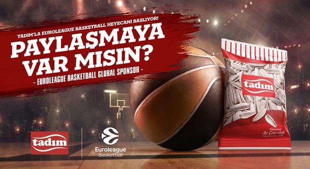 Euroleague Basketball Global Sponsoru Tadım Final Four'a hazır