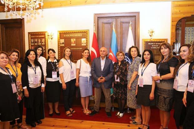 Azerbaycan Kadın Yerel Yöneticiler 'Bilgi ve Tecrübe Paylaşım Programı' Kocaeli ve İstanbul'da yapıldı