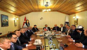 TDBB Kasım ayı Yürütme Kurulu Toplantısı Birlik merkezinde yapıldı