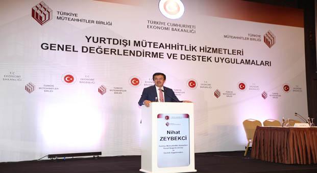 Ekonomi Bakanı Zeybekci TMB'nin gündem toplantısında konuştu
