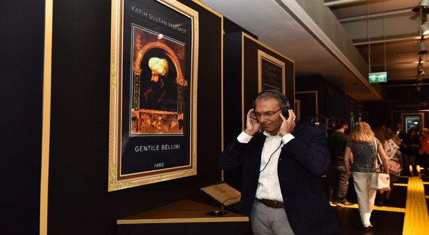Türk Telekom'dan görme engellilere yönelik ilk resim sergisi: Tablolar Konuşuyor