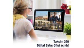 Taksim 360'dan dijital adım!