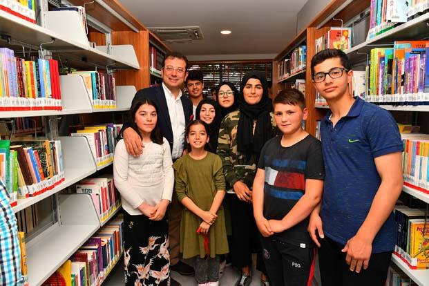 Tarık Buğra Kütüphanesi açıldı