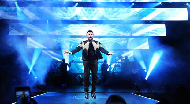 """Megastar Açıkhava'yı """"Şarkılar  Dünyası""""na taşıdı"""