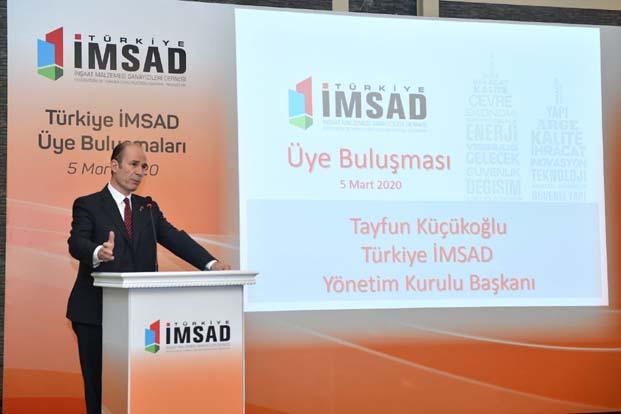 """Tayfun Küçükoğlu: """"İnşaat malzemesi endüstrisinin yurtiçi ve dışında yüksek gelişme potansiyeline inanıyoruz"""""""