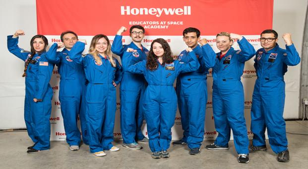 Honeywell'den öğretmenleri uzaya taşıyan program