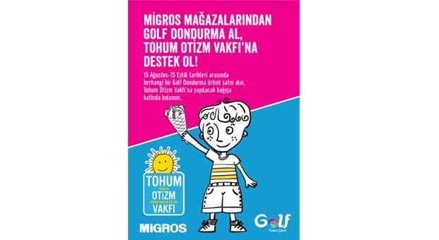 Golf Dondurma'dan Otizmli çocukların eğitimine katkı