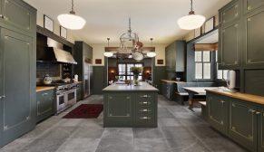 Banyo ve mutfakların siyah kuğusu: İris Black Cottage