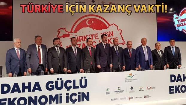 Çevre ve Şehircilik Bakanı Murat Kurum, Türkiye İçin Kazanç Vakti Kampanyası'nın detaylarını açıkladı.
