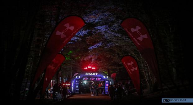 Under Armour Gece Koşuları'nın ikincisi, Belgrad Ormanı'nda gerçekleşti
