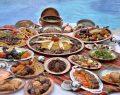 Ramazana yakışır açık büfe iftar sofralarının adresi; Wyndham Grand İzmir Özdilek