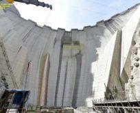 Türkiye'nin en yüksek barajı Yusufeli'de üst seviye önlemlerle çalışmalar sürüyor
