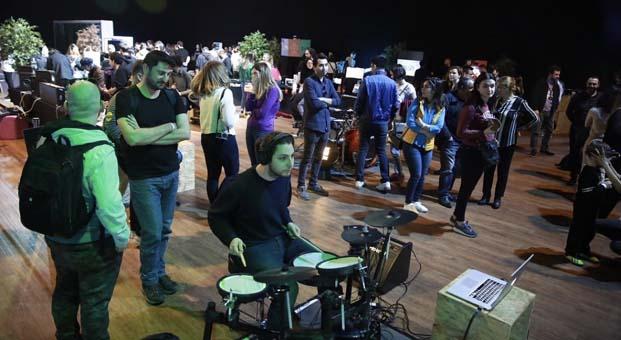 Zuhal Müzik, Z Booth konseptiyle Sónar+D kapsamında Zorlu PSM'deydi