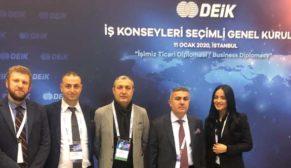 Abdülkadir Akkuş DEİK- Türk Lübnan İş Konseyi Başkanlığı koltuğunda