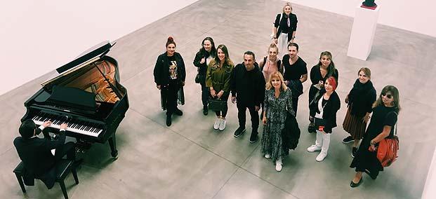 Halil Altındere devam eden sergisi Abrakadabra'yı İyilik İçin Sanat Derneği'ne anlattı