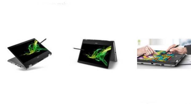 Acer Spin 3 dönüştürülebilir şık dizüstü bilgisayar serisini yeniledi