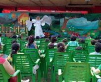 'Mutlu Çocuklar Bahçesi' Açık Hava Sahnesinde