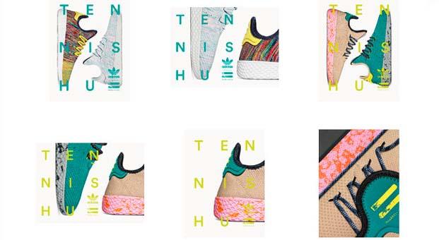 Tennis Hu Koleksiyonu sade tasarımını renklendirdi