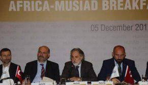 MÜSİAD Ankara Afrika Ticari ateşelerini ağırladı