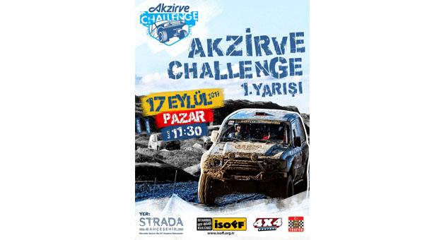 Off Road Heyecanı Akzirve Strada Bahçeşehir'de