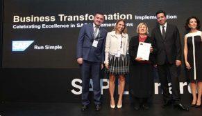 Akfen Holding 'Kurumsal Dönüşüm Ödülü'nün sahibi oldu