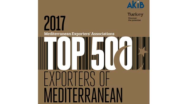 AKİB ilk 500 ihracatçı firmayı açıkladı