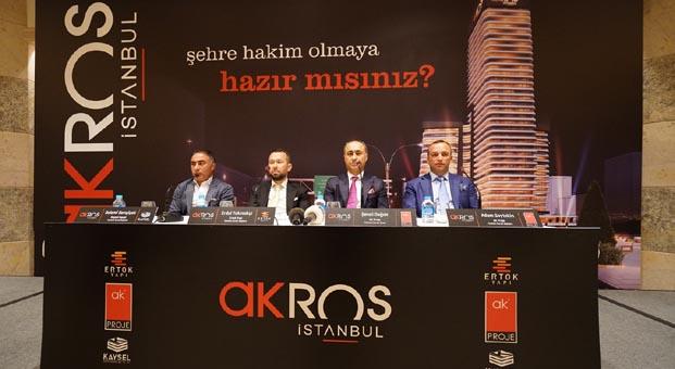 Akros İstanbul ile konumunuz da kazancınız da yükselecek