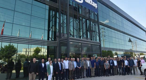 Aktaş Holding, İMSİAD üyelerini ağırladı