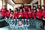 AKUT Spor Kulübü'nün Snowboard Sporcuları şov yaptı