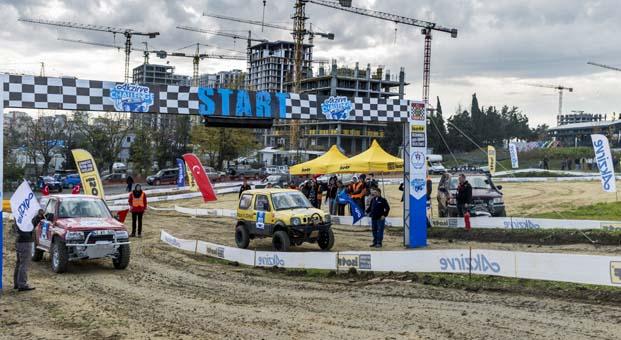 STRADA Bahçeşehir'de Off Road heyecanının ikinci ayağı tamamlandı