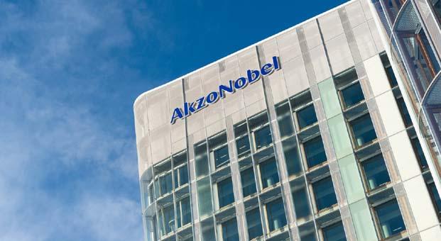 AkzoNobel'in düzeltilmiş faaliyet karı yüzde 23 arttı