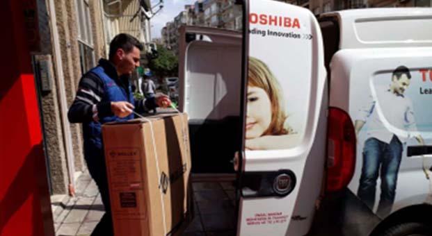 """Alarko Carrier yetkili satıcısı Ünsal Makine'den """"engelsiz yaşam"""" için destek"""
