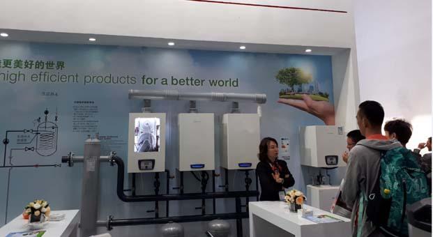 Alarko Carrier'ın, Türkiye'de ürettiği yüksek teknolojili ürünleri Pekin'de sergilendi
