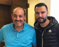 Alişan'dan hocası Salih Memişoğlu'na ziyaret