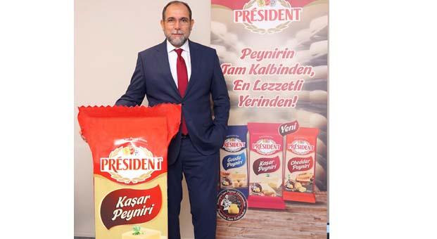 Avrupa'nın peynir ustası PrésidentTürkiye pazarına adım attı