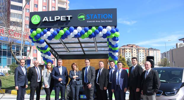 Alpet'ten e-Station hizmeti