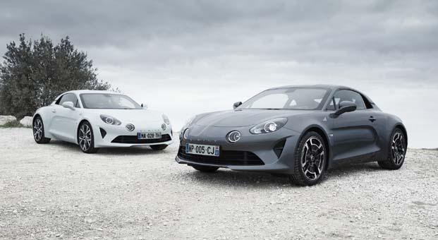 Alpine üç yeni versiyonu ile Cenevre Uluslararası Otomobil Fuarı'nda