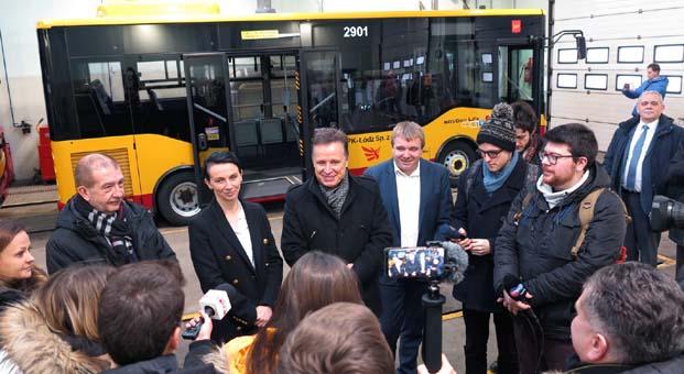 Anadolu Isuzu Polonya'nın Lodz Belediyesine 24 Isuzu Novociti Life teslimatı gerçekleştirdi