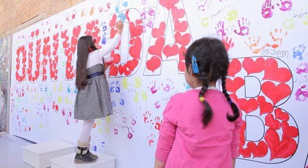 Küçük ressamlar 29 Ekim'de Anıtkabir'de tuval başına geçecek