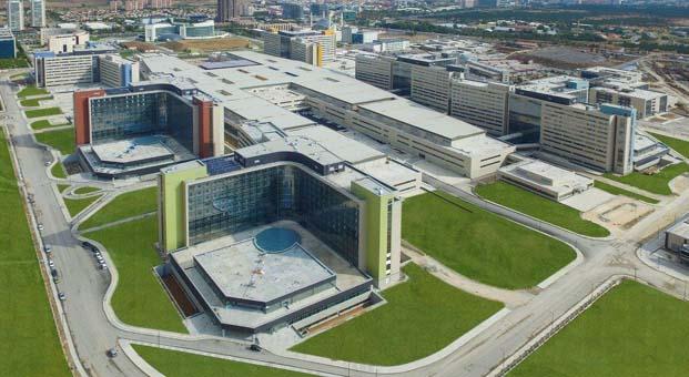 Dünyanın en büyük hastanesi Ankara Şehir Hastanesi Bilkent açılış için gün sayıyor