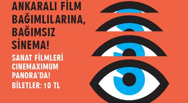 Bağımsız Sanat Filmleri Rüzgârı Panora AVM'de